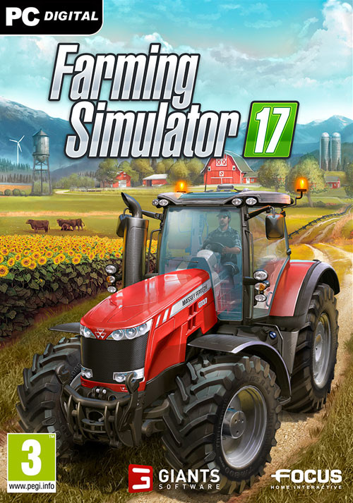Farming Simulator 17 Crack pc