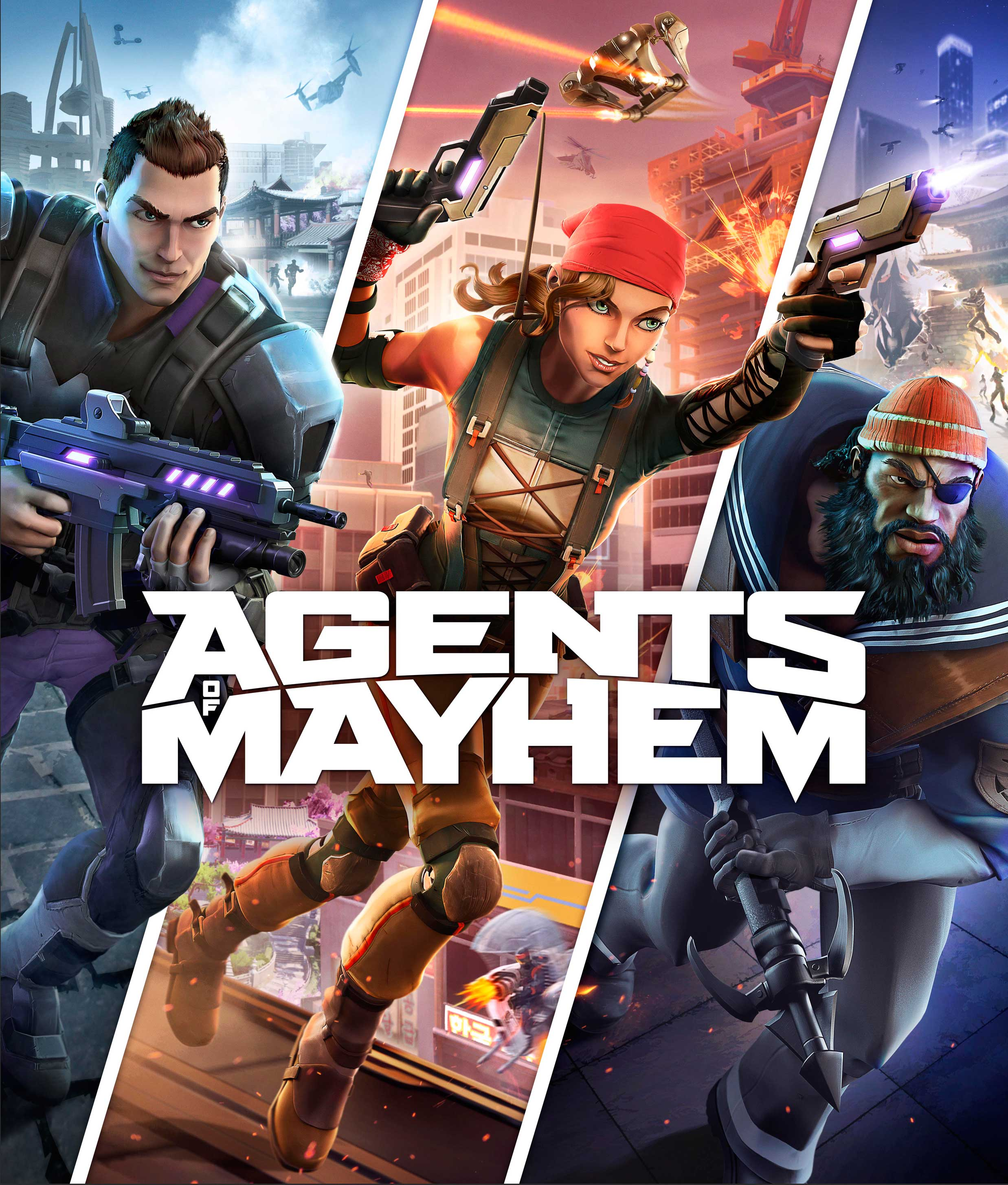 Crack Agents of Mayhem