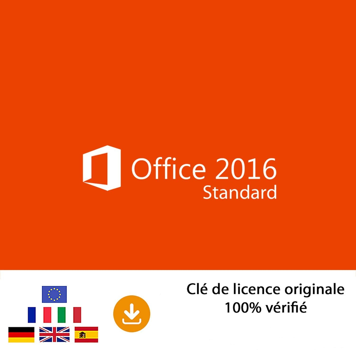 Microsoft Office 2016 Edition Standard