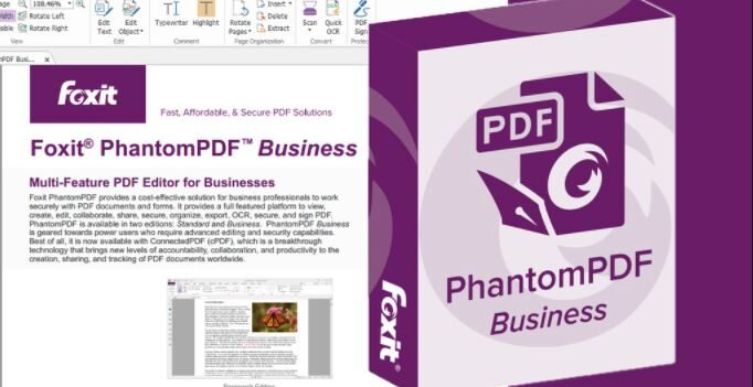 Foxit PhantomPDF Business 10